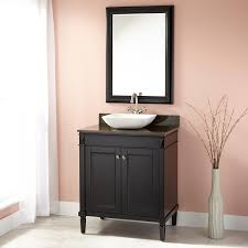 30 In Bathroom Vanity 30 Chapman Vessel Sink Vanity Espresso Bathroom