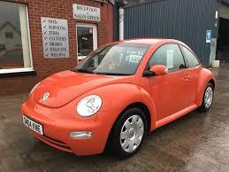 volkswagen new beetle red used volkswagen beetle 2004 for sale motors co uk