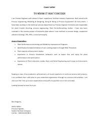 intel process engineer cover letter