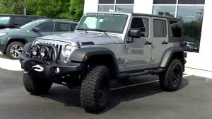 used jeep wrangler unlimited rubicon for sale used jeep wrangler unlimited aev jk350 saco maine portland me