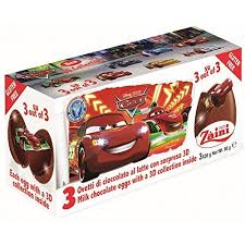 where to buy chocolate eggs with toys inside disney cars zaini milk chocolate with collection 3 eggs