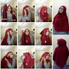 tutorial hijab syar i untuk pengantin 81 kumpulan tutorial hijab segi empat jadi syari untuk kondangan