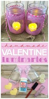 Ideas For Homemade Valentine Decorations by 34 Mason Jar Valentine Crafts Diy Projects For Teens