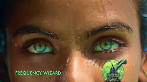 brown to amazing sea green eyes transformation biokinesis