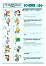 6 free esl matching exercises worksheets