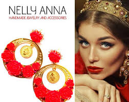 nelly earrings extraordinary earrings for an eye catching by nellyannaaccessories