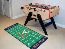 Football Field Area Rug Of Virginia Football Field Runner Of