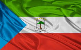 Flag Red White Blue Horizontal Stripes äquatorialguinea Flagge Hintergrundbilder äquatorialguinea