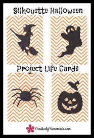 handmade silhouette project themed cards