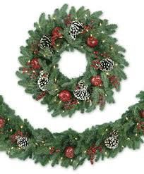 alpine grand fir artificial wreath garland tree classics