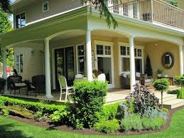 exterior front porch agreeable design ideas using cylinder white