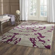 Solid Gray Area Rug by Light Purple Rugs Roselawnlutheran