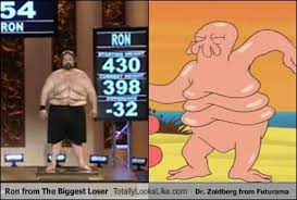Dr Zoidberg Meme - ron from the biggest loser totally looks like dr zoidberg from