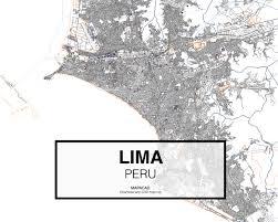 Lima Map Lima Dwg Mapacad