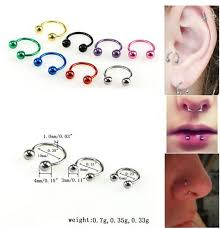aliexpress nose rings images Buy stainless steel nose ring studs navel lip jpg