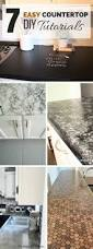 Easy Kitchen Update Ideas 25 Best Kitchen Countertop Redo Ideas On Pinterest Countertop
