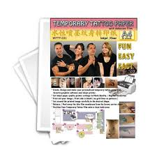 temporary tattoo paper tattoo collections