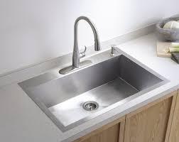 stainless steel drop in kitchen sinks u2014 the homy design