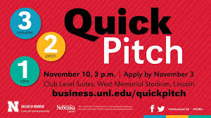 3 2 1 quick pitch student programs and competitions center for