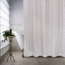 White Linen Shower Curtain Farmhouse Shower Curtain Farmhouse Shower Curtains Society6 Best
