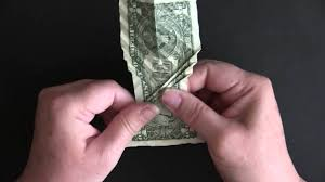 Origami Koi Fish Dollar Bill - folding won park s dollar koi