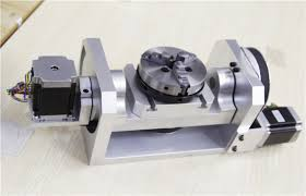 5 Axis Cnc Machine 4th Axis Homemade Dividing Head For Cnc Table Top