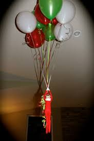 balloons that float on a shelf fyi it takes 9 helium balloons to float an