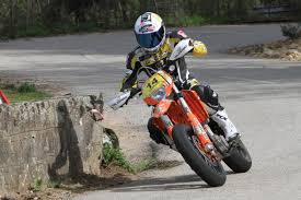 road legal motocross bike thierry canazzi is riding a ktm exc400 with street legal goldspeed
