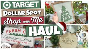 target dollar spot shop with me christmas 2017 huge haul