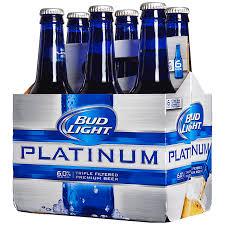 bud light bottle oz bud light platinum 12 oz btls