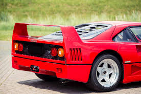 how many f40 are left ex david gilmour pink floyd f40