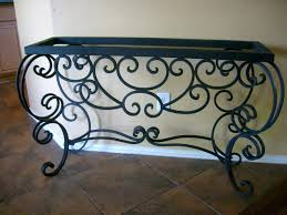 Kirklands Console Table Console Tables Compact Wrought Iron Console Tables Beblincanto