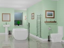 bathroom glamorous modern master bathroom with glowing wall and