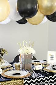 New Years Party Home Decorations by New Years Eve Golden Glam Dinner Party Celebrations At Home