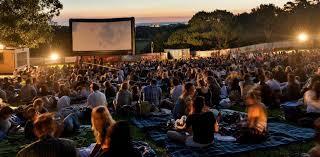 Outdoor Cinema Botanical Gardens Open Air Cinemas