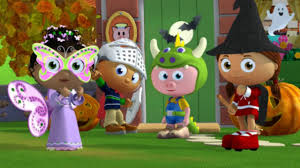 super why halloween interactive puzzle for kids pbs kids spooky