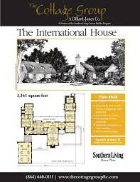 Southern Living House Plans With Basements The International House The Cottage Group Southern Living