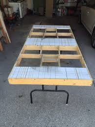 portable track saw table no table saw no problem build a portable cutting table and use