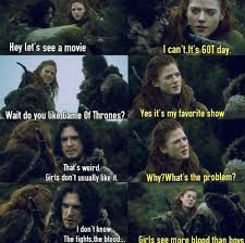 Ygritte Meme - game of thrones memes on twitter different but same conversation