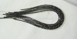black diamonds necklace images Black diamond beads strands necklace faceted black diamond beads jpg