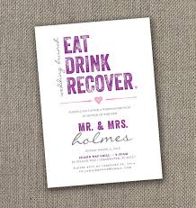 birthday brunch invitation wording eat drink recover wedding brunch invitation digital file