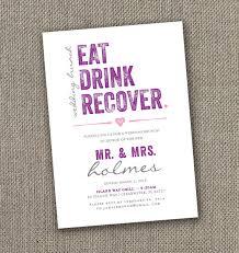 birthday brunch invitations eat drink recover wedding brunch invitation digital file