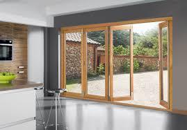French Doors Wood - wood sliding patio door