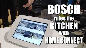 bosch home connect app technology preview youtube