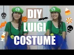 diy mario and luigi halloween costume last minute youtube