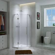 Bathrooms With Corner Showers 36 X 36 Corner Shower Doors Tags 92 36 Corner Shower