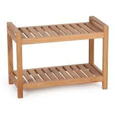 belham living teak shower bench walmart com