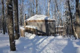 keewaydin lake yurt mi cade u0026 molly