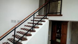 stainless steel banister rails contemporary railing capozzoli stairworks