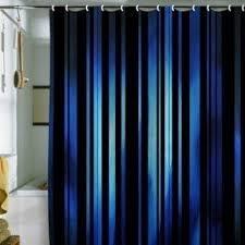 black striped shower curtain foter